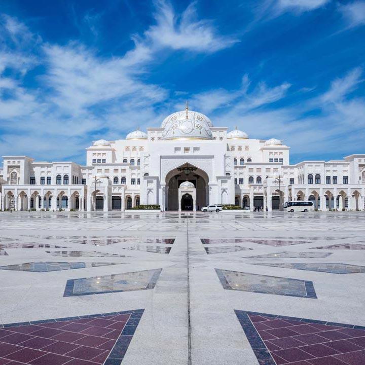 Marmo botticino italiano Abu-Dhabi Presidential Palace-Qasr-Al-Wattann