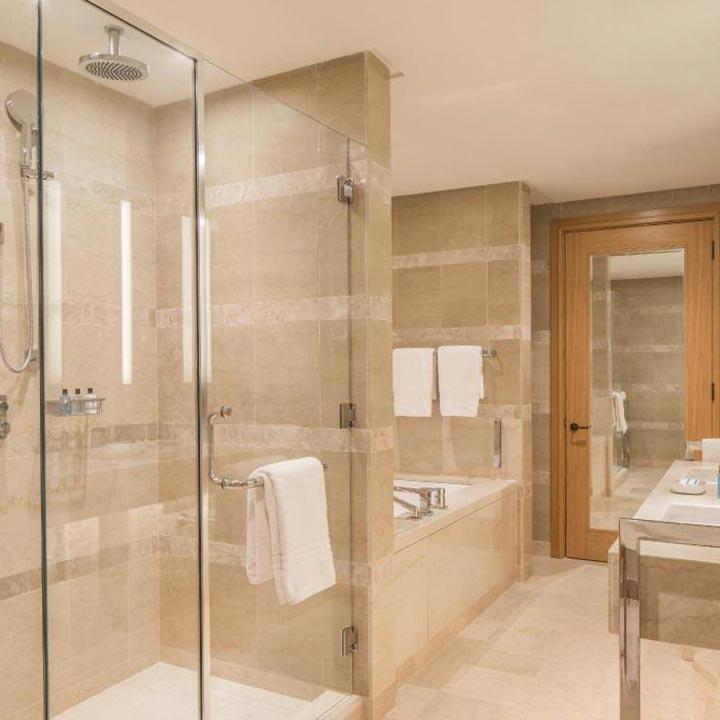 Marmo botticino italiano Hotel Four Season Tunisi