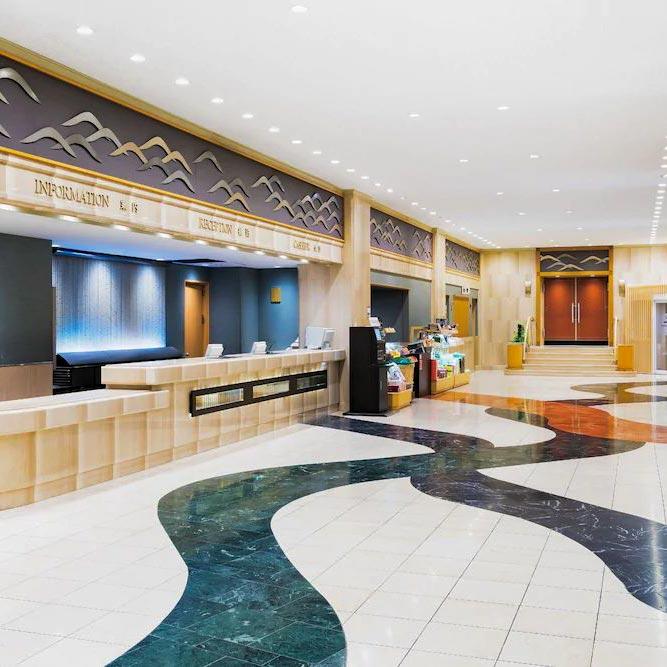 Marmo botticino italiano Kyoto Hotel