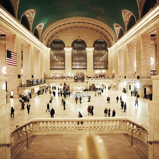 Marmo botticino italiano Central Station New York