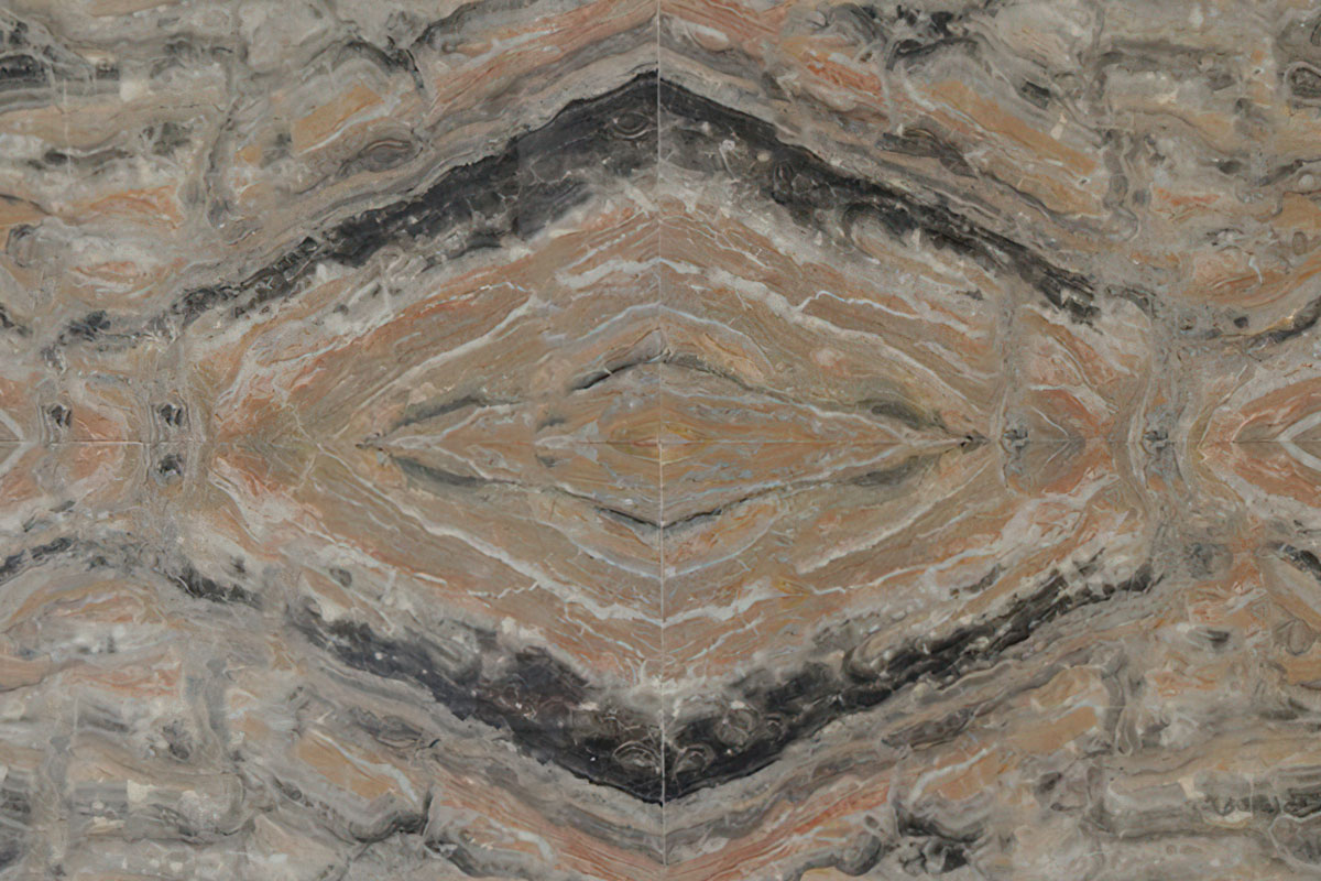 EURO MAS SRL - Pink and Gray Arabescato Orobico marble